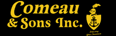 Comeau and Sons logo