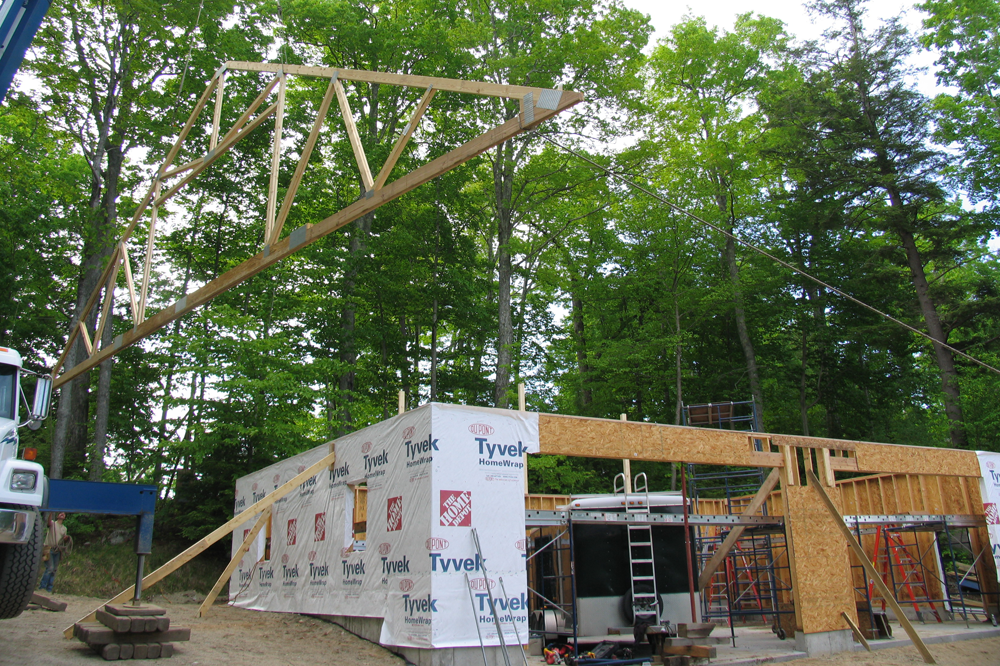 picture of comeau project large garage